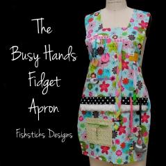 fidget apron