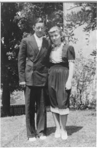 Margaret and Mike in July 1938