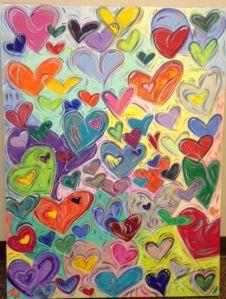 heart painting for LDHH-H