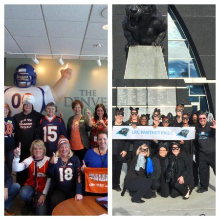 Broncos vs Panthers Hospice spirit